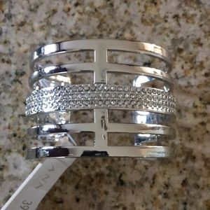 New! Ann Taylor silver bracelet/cuff